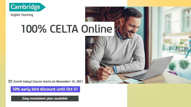 Become a CELTA Certified Language Teacher