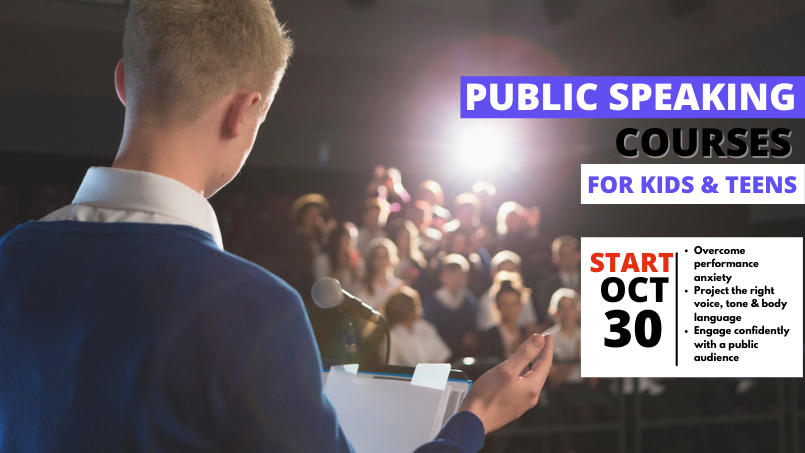 Public Speaking Courses for Kids & Teens
